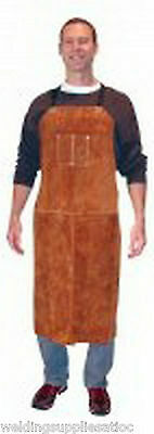 "Tillman 3842 42"" Leather Bib Welding Apron"