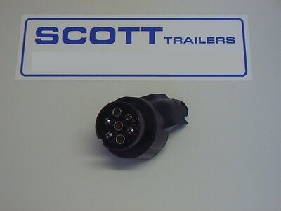 Ifor Williams Adaptor for a 13 Pin Trailer to a 7 Pin Car.