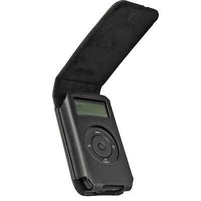 Black Leather Case for Pure Move 2500 Digital DAB/FM Radio Cover Holder Stand