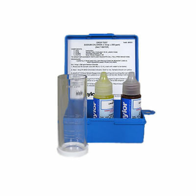 Taylor K-1766 Chloride Salt Water Drop Test Kit