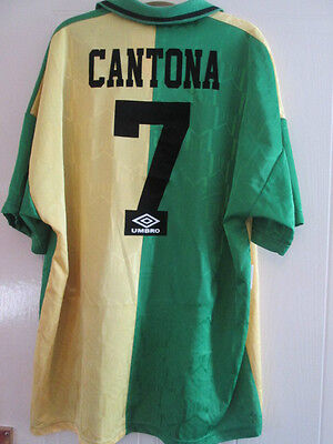 Manchester United 1992-1994 Cantona Newton Heath Football Shirt XXL /35028