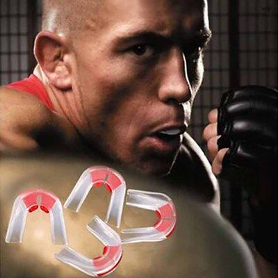 Plasticity Gum Shield Mouth Guard Piece Teeth Protector for Boxing Basketball