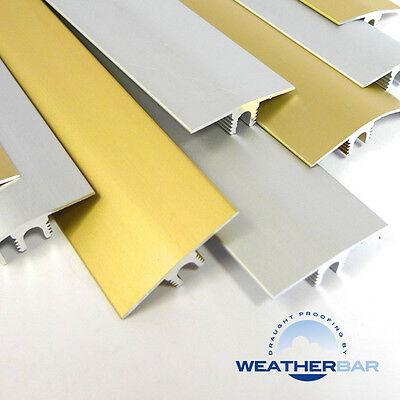 Metal Height Adjustable Flooring Profiles, Trims, Door Bars & Cover Strips, 89cm