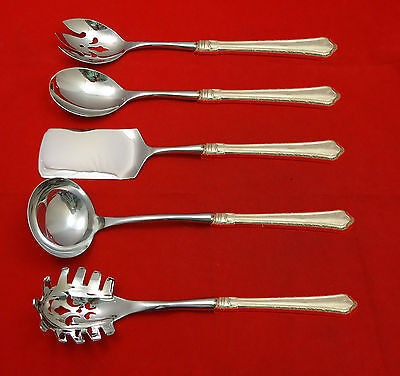 Madison by Wallace Sterling Silver Hostess Set 5pc HHWS  Custom Made