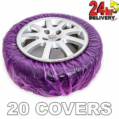 Jtape Alloy Wheel Paint & Repair Elasticated Mask Tyres 20 Per Bag