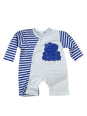 Baby sailor Bodysuit - The little frog with long sleeves 100% cotton