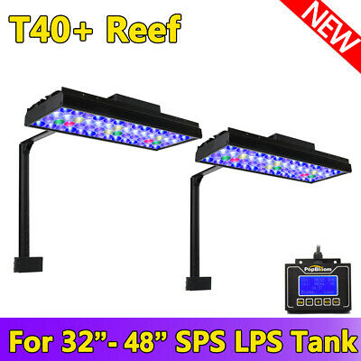 Dimmable LED Aquarium Light Reef Lighting Full Spectrum Marine Reef Coral
