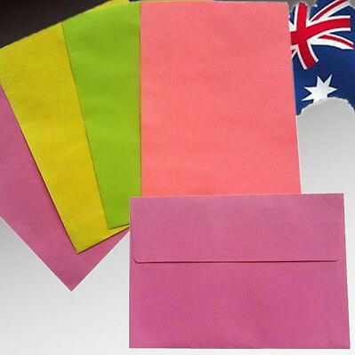 20PCS 12.5x17.5cm Candy Color Greeting Invitation Cards Gift Envelopes WMAIL17