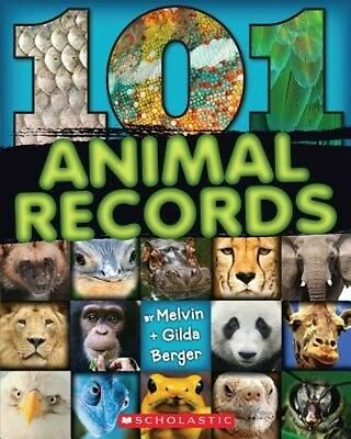 101 Animal Records by Melvin Berger Paperback Book (English)