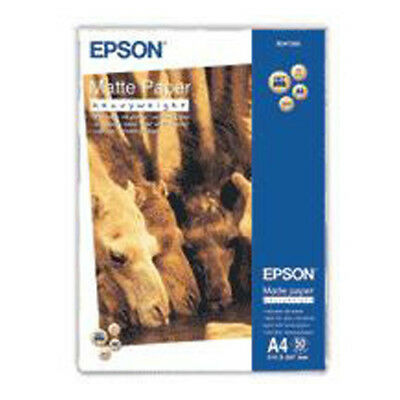 Epson Matte Paper Printer A4 Matte Paper - Heavyweight (50 Sheets)