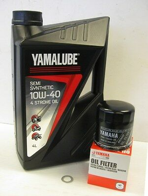 Yamalube Semi-Synthetic Oil Service Kit Yamaha YZF R1 98-99 R6 99-00
