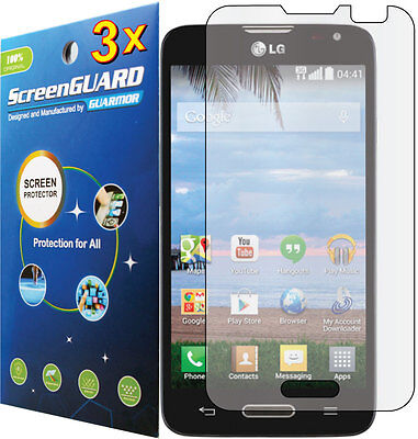 3x Clear LCD Screen Protector Guard Cover Film for LG Ultimate 2 L41C