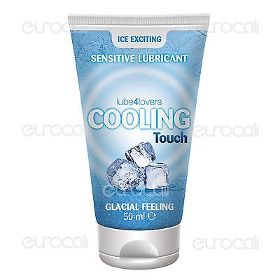 Lube4Lovers Cooling Touch Gel Lubrificante Intimo Effetto Freddo 50ml•