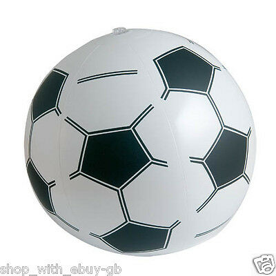 INFLATABE FUN FOOTBALL BEACH BALL HOLIDAY SWIMMING POOL-VOLLEY GARDEN KIDS TOY