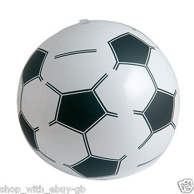 INFLATABLE FUN FOOTBALL BEACH BALL HOLIDAY SWIMMING POOL-VOLLEY GARDEN KIDS TOY