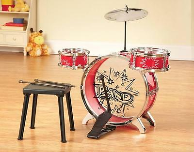 For That Budding Musician 8 Pc Kid Size Big Band Drum Instrument Set