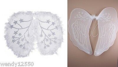 Large Angel Wings Party Hen Nigh Fancy Dress Dance Wing Theatre Costume