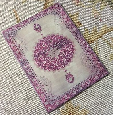 Pat Tyler Dollhouse Miniature Canvas Floorcloth Covering Rug Carpet Red p468