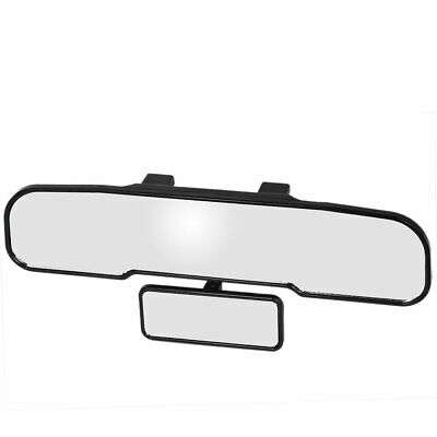 Auto Car Interior Plastic Frame Wide Angle Blindspot Viewing Rearview Mirror