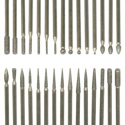 SAI - 30 Nail Art Electric File Drill Bits Replacement Manicure Pedicure Kit Set