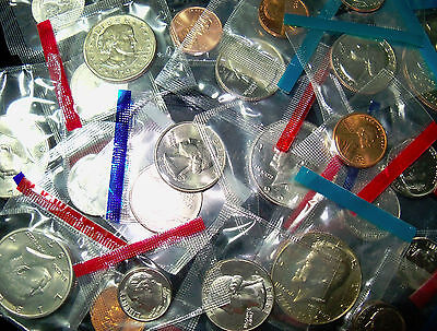 MINT SET COINS - 10 Diff. Assorted  Dates all BU