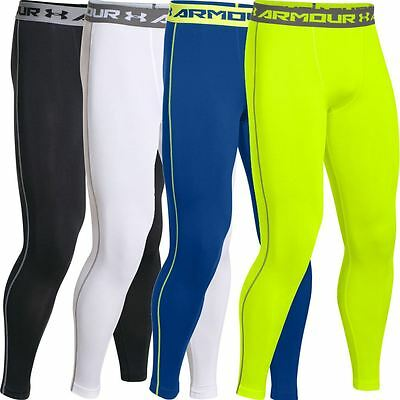 2016 Under Armour Mens HeatGear Armour Compression Leggings BaseLayer Tight