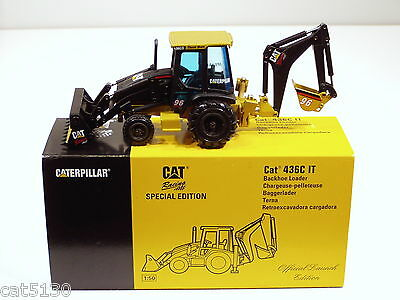 "Caterpillar 436C IT ""#96 RACING"" - ""LAUNCH EDITION"" - Backhoe - 1/50 NZG - MIB"