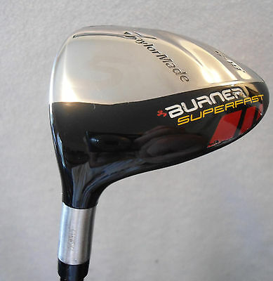 LH - TaylorMade Burner SuperFast  5/18*  Wood w/XCON Senior Shaft