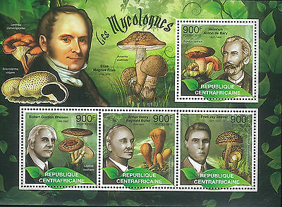 CAR 2012 Stamp, CA12103A Mycologists, Important People, Mushroom, Plant