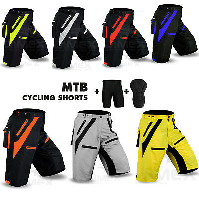 MTB Cycling Short Off Road Cycle Anti-Bac CoolMax Padded Liner Shorts Dimex NEW