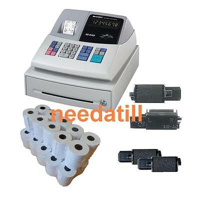 TILL ROLLS & INK - Sharp XE-A102 Cash Register XEA-102 XEA102 XE A 102