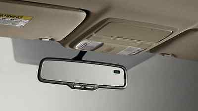 Genuine OEM Honda Accord 2Dr Coupe Day / Night Mirror With Compass 2013