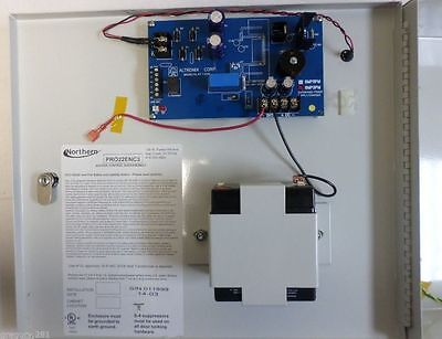 Honeywell PRO22ENC3 Remote Enclosure with Power Supply and Battery SMP3PM