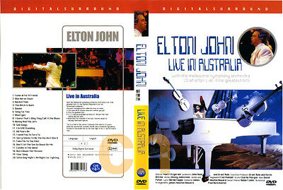Elton John - Live In Australia   DVD NEW