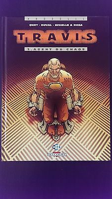 BD TRAVIS tome 3 - Duval - Quet - Delcourt - Comme neuf