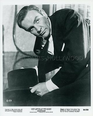 Sean Connery James Bond 007 Goldfinger 1964 Vintage Photo #2
