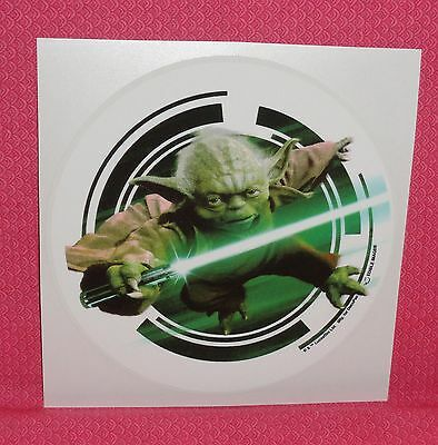 Star Wars Yoda, Edible Rice Paper Image, Cake Tattoo,Topper,Green,DecoPac