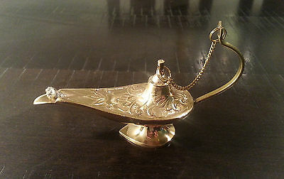 Aladin The Genie Oil lamps - Brass Genie Aladdin Lamp