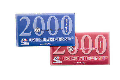 2000 United States US Mint 20 pc Uncirculated Coin Set SKU1406