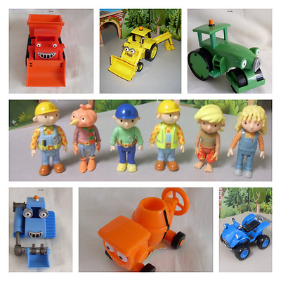 Bob The Builder Vehicles & Figures From The New Series Scratch  Dizzy Lofty