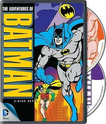 Adventures of Batman [2 Discs] (2014, REGION 1 DVD New)
