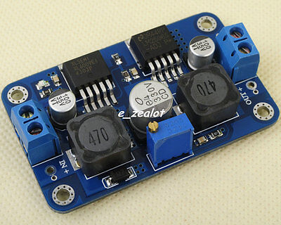 DC-DC Converter Automatic  Step Up Step Down Module 3.5V-28V to 1.25V-26 Perfect