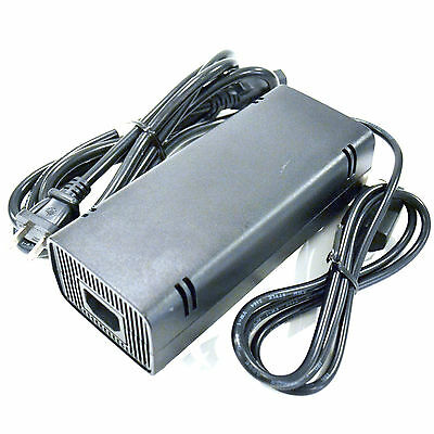 OFFICIAL Microsoft XBox 360 S Slim 135W Power Supply AC Adapter OEM Charger Cord