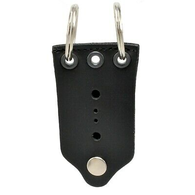 K-9 Officer Leather Universal Badge Holder Canine Police Working Dog Neck Hanger