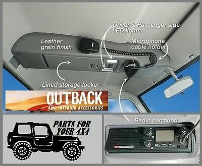 Outback Roof Console Rc79Cc Landcruiser 70 Series Single Cab *see Dates Below*