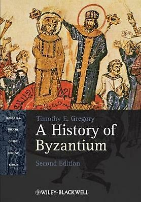 A History of Byzantium by Timothy E. Gregory (English) Paperback Book Free Shipp
