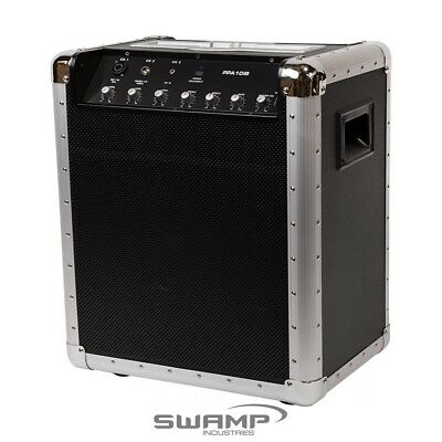 """Battery Powered Portable 10"""" 50W Speaker System w/ Bluetooth + USB Connectivity"""