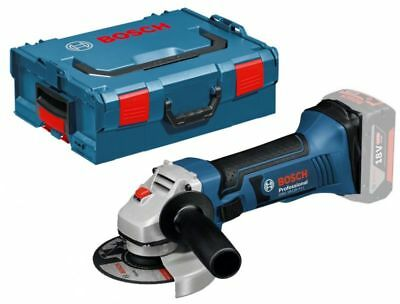 Bosch GWS 18-125 V-LI Professional Cordless Angle Grinder (Tool Only, L-Boxx)
