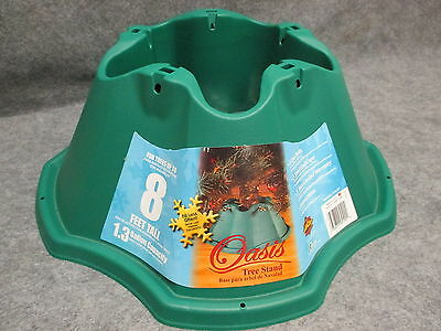 Jack-Post Oasis Christmas Tree Stand 519-ST Green Holds 8' Tree Made In USA NEW