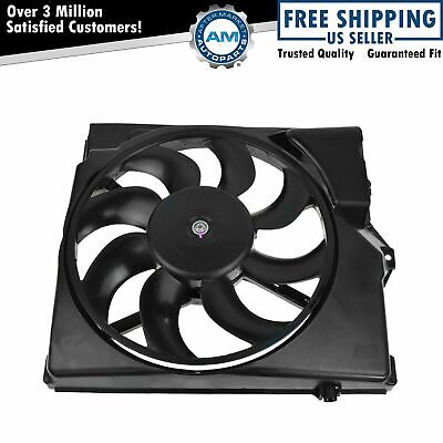 A/C Condenser Cooling Suction Fan w/ Shroud 8 Blade for BMW E36 3 Series